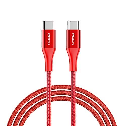 Neverending USB Typ C Kabel, 3A Nylon geflochten USB C Ladekabel und Datenkabel Fast Charge Sync schnellladekabel für Samsung S10/S9/S8+, Huawei P30/P20/P10,Google Pixel, Xperia XZ