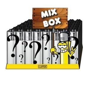 CLIPPER® Feuerzeuge Collectors Mix Box – 10 Stück – Unsere Clipper-Wundertüte