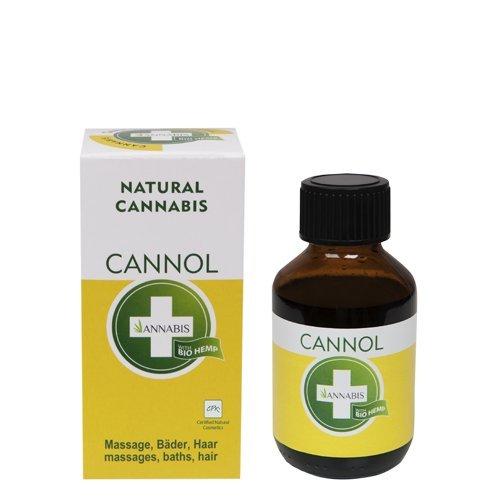 CANNOL HANFÖL Hochwertiges Hanföl hat positive Auswirkungen auf den ganzen Körper, 100ml