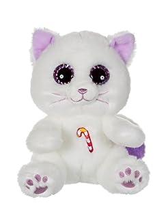 Gipsy Candy Pets Gato Peluche, 70870, Blanco/Lila, 25cm