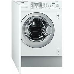 AEG 61470 BI / A++ Waschmaschine FL / 190 kWh/Jahr / 1400 UpM / 7 kg / 10400 L/Jahr / Weiß / Knitterschutz / Aquastop