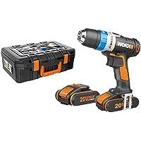Worx Worx Worx WX178.1 Trapano Avvitatore con 2 Batterie Li-Ion, 40 W, 20 V, Nero | Più pratico  | Acquista  | Nuovo mercato  9fbde3