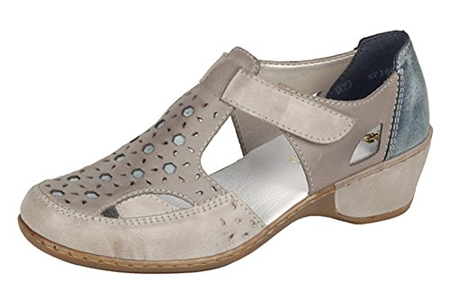 Rieker, Damen Pumps Grau