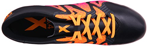 Adidas Performance X 15.4 Chaussures de football, noir / choc Mint / blanc, 6,5 M Us Black/Shock Pink/Gold
