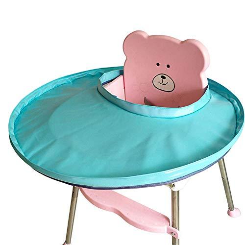 Luerme Tapis de d/îner pour b/éb/é Tapis de soucoupe pour b/éb/é /à la maison Couverture de chaise haute Tapis de table anti-sale