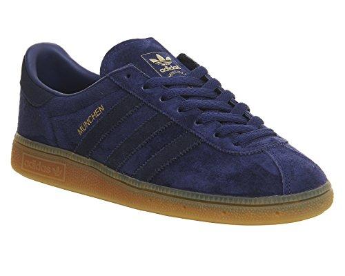 adidas Munchen, Scarpe Running Uomo dark blue-collegiate navy-gum (BB5294)