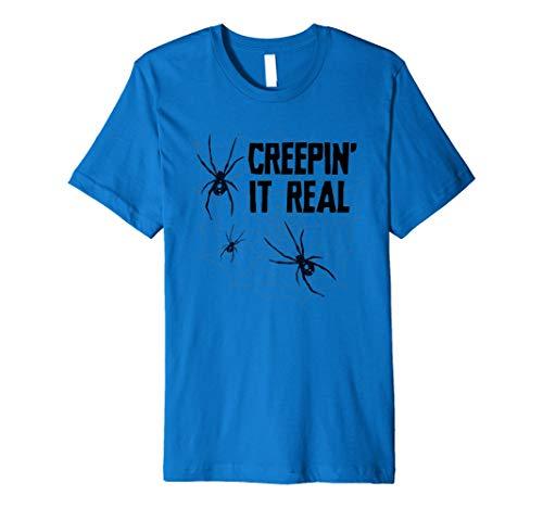 (Scary Halloween Spider Shirt Kinder Herren Frauen Kostüm Tshirt)