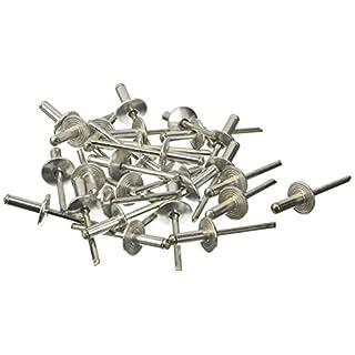 Blinky 5015060 Rivets Aluminium Tête Large-500 Pièces