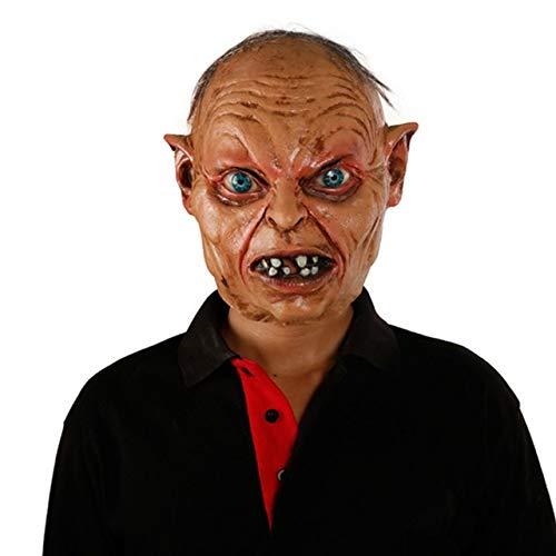 WULIHONG-MaskeScary Movie Maske Latex Vollkopf Horror Halloween Maske Latex Maskenx14027 (Halloween-rob Zombie-full Movie)