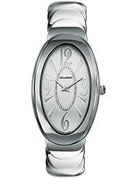 Milleret - 1030-11-111-11A -Anaconda - Montre Femme Acier - Quartz Analogique - Cadran Argent - Bracelet Acier