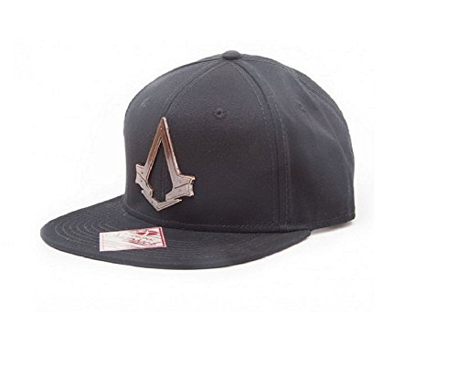 Assassins Creed Baseball Cap Syndicate Bronze Crest Official Black Snapback One Size
