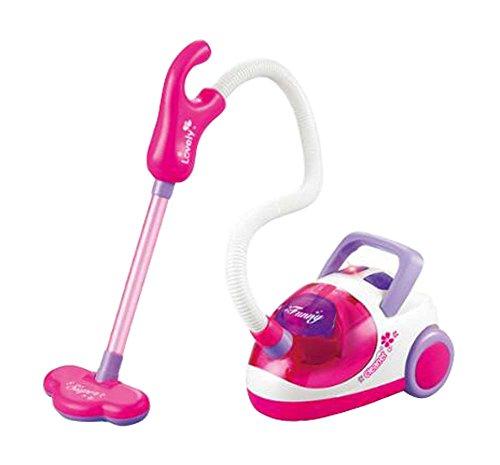 Mini Lovely Staubsauger Modell Spielzeug Kinder Elektronisches Spielzeug 13 * 10 cm-Pink