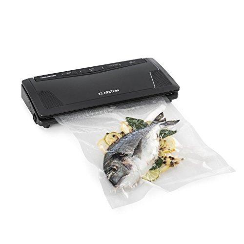 Klarstein FoodLocker Slim • Macchina per Sottovuoto • 130 Watt • Sous...