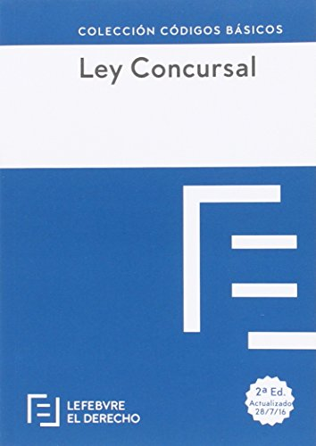 Ley Concursal (Colección Códigos Básicos)