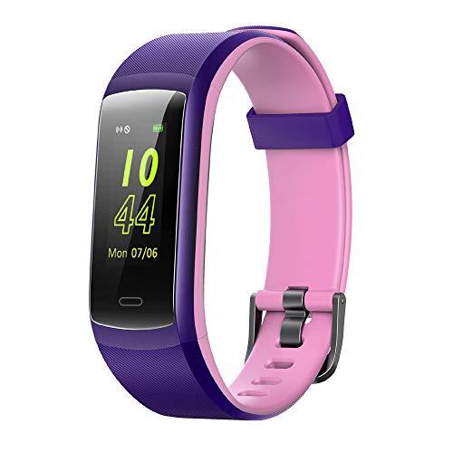 Willful Pulsera de Actividad, Pulsera Inteligente con Pulsómetro Reloj Inteligente Impermeable IP68 Pulsera para Deporte Pulsera Actividad Inteligente para Mujer Hombre Niño para Android iOS Teléfono