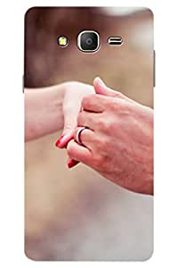 AMAN Engament Ring 3D Back Cover for Samsung Galaxy On7