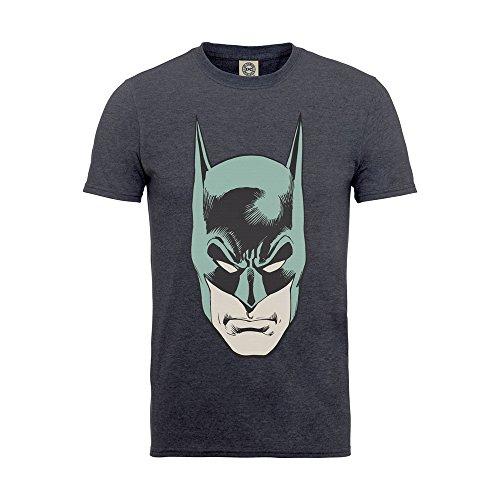 TG-12-13-anni-grigio-Grey-Charcoal-DC-Comics-Maglietta-Bambina-grigio