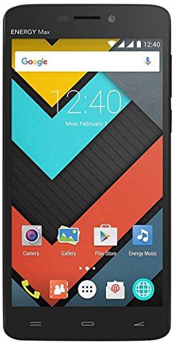 "Energy Sistem Phone Max 4000 (smartphone, 5"" IPS HD, 4000mAh, Quad Core, Android 5.1, Dual SIM, GPS, Bluetooth, 1GB/8GB, fotocamera posteriore 5 Mpx con autofocus e flash LED, fotocamera anteriore 2 Mpx) – Nero"