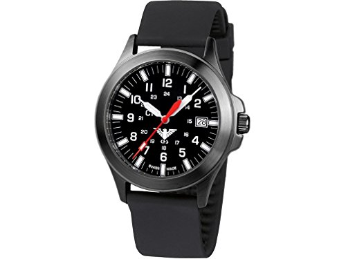 KHS Mens Watch Black Platoon C1 KHS.BPC1.SB