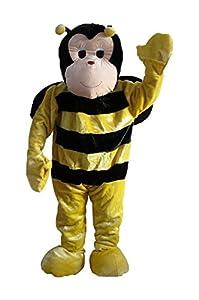 Carnival Toys 25907 - abeja, hombres separado traje, cabeza y pies, Universal L-XXL