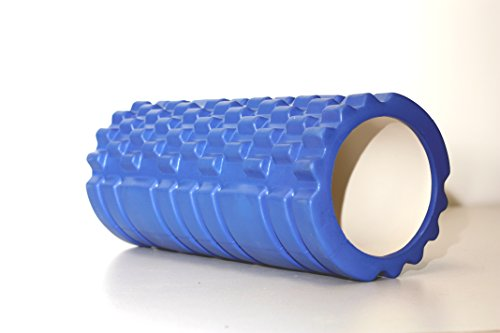 BrolicSports Rullo Fitness/faszie Ruolo Stesso Massaggio, Blau