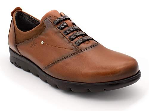 Zapato FLUCHOS F0354 Sugar Nobuck Cuero 37 Marron