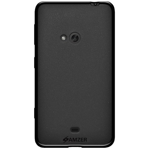 Amzer 96745 Pudding TPU Case - Black for Nokia Lumia 625  available at amazon for Rs.314