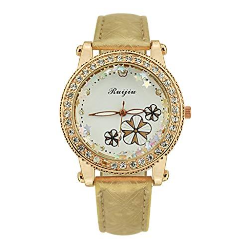IG Invictus Frauen Luxusedelstahlarmband Uhr analoge Quarz Armbanduhr RUIJIU ZYBFLS 1 Damenuhr