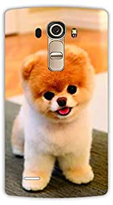Crazy Beta Cute sweet puppy pet dog Printed mobile back cover case for LG G4