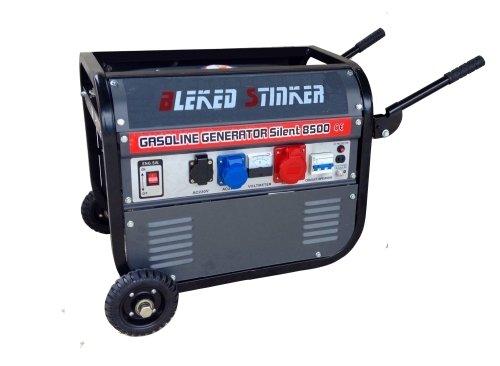 GrecoShop Gruppo elettrogeno/Generatore di corrente 2800W - 220/380V con ruote (Cod.:3417)