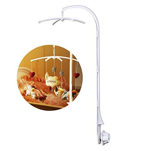 TBoonor BabyMobile Halter 34 Inch Baby Mobile Arm Halterung für hängende Spielzeuge Arm Halterung für Babybett/Kinderbet(ohne Spielzeug und ohne Spieluhrmodul)
