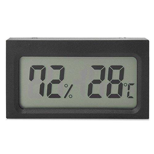 Preisvergleich Produktbild SYM® Digital LCD Thermometer Feuchtigkeits Messinstrument Lehre Hygrometer Indoor