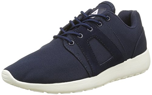 Asfvlt Super, Baskets Basses Mixte Adulte Bleu (Navy)