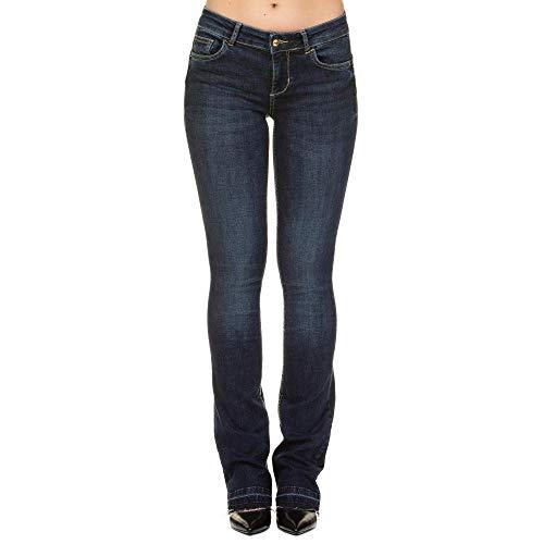 LIU-JO Jeans Bottom Up Repot a Zampa U68032D4268 Denim Size 27 f2afd01653e