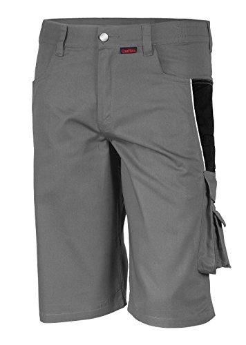 Qualitex Qualitex - Shorts PRO MG 245 , GRAU/SCHWARZ , 42