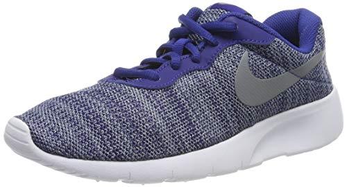 Nike Nike Tanjun (GS), Scarpe Running Bambino, Multicolore (Black/White/White), 38.5 EU