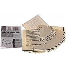 10x Hojas de limpieza para Brother P-Touch QL 550Impresora de etiquetas, hojas de limpieza, Cleaning Sheet para ptouch ql550
