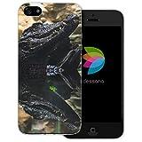 dessana Krokodil Alligator transparente Schutzhülle Handy Case Cover Tasche für Apple iPhone 5/5S/SE Kaiman