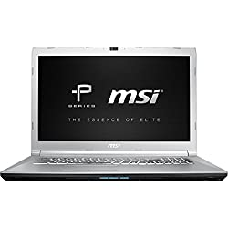 "MSI PE72 7RD-1265FR Ordinateur Portable Hybride 22"" Noir (Intel_Core_2_Quad, 64 Go de RAM, 256 Go, AMD Radeon HD 6450, Windows 10 Home) Clavier AZERTY Français"