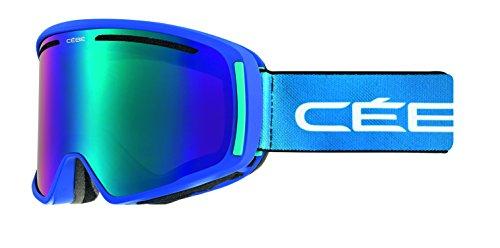 Cébé CORE Skibrille, Full Mat Blue, M