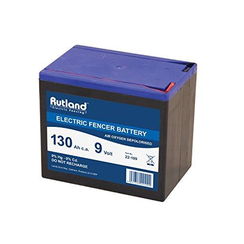 Rutland 22-109R Batterie für Zaungeräte-130 Amp