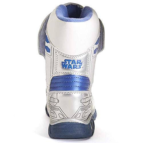 Disney Star Wars R2d2 Light-up Toddler/Little Kids Cold Weather Boots - White