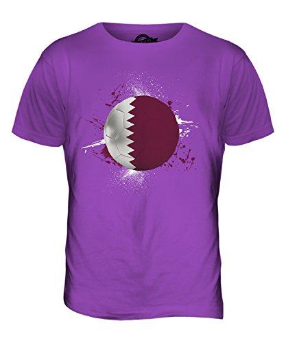 CandyMix Katar Fußball Herren T Shirt Violett