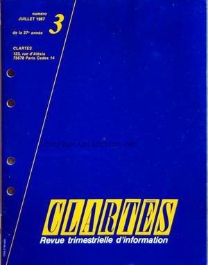 clartes-no-3-du-01-07-1987-geographie-les-surplus-de-la-cee-lois-de-la-matiere-louis-de-broglie-par-claudine-labin-etres-vivants-les-recettes-du-desherbage-par-annette-schreiner-l-39-homme-andy-warhol-le-pape-du-pop-39-art-par-domitile-simon-maison-les-emprunteurs-immobiliers-en-difficulte-par-xavier-bartoli-lois-de-la-vie-carie-et-fluor-par-docteur-jacques-dubois-metiers-et-techniques-le-nouveau-paysage-audiovisuel-francais-par-marie-claude-ju