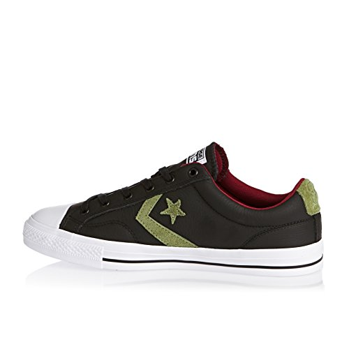Cons Block Green Converse Black Lifestyle Black fatigue Trainers Green red U5nHAn7xq
