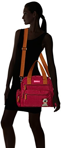 SwankySwans - Max, Borse a Tracolla Donna Rosso (Red (Marsala))