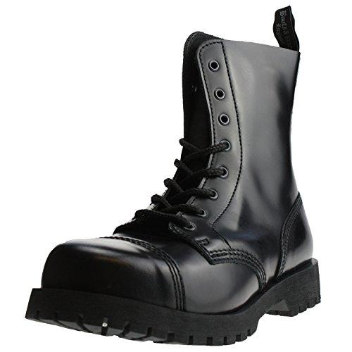 &boots braces bottes rangers avec lacets 8–noir Noir - Noir