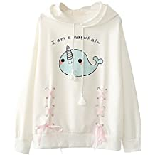 Himifashion - Camiseta de Manga Larga - Animal Print - Cuello Redondo -  para Mujer fd8cc0ed60e