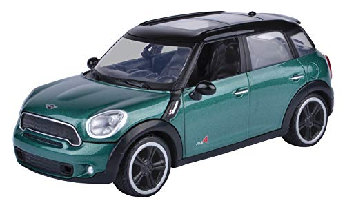 Motormax 1:24 2011 Mini Cooper S Countryman Diecast Car (Oxford Green)