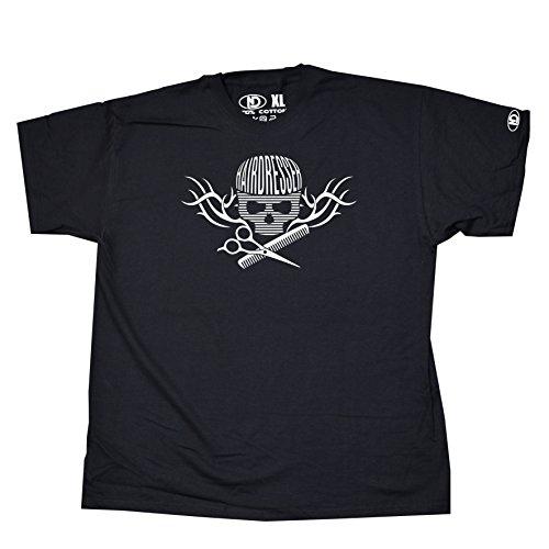 Nicram Designs Herren T-Shirt BLACK + White Logo